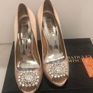 Badgley Mischa satin shoes